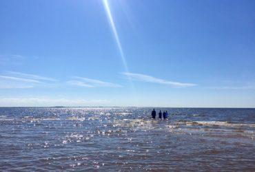 Святое водное крещение на Финском заливе